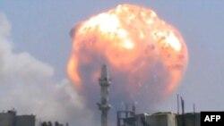 Выбух у Хомсе, 1 жніўня 2013 г.