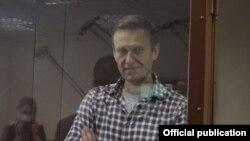 Alekseý Nawalny Moskwadaky sud diňlenişiginde