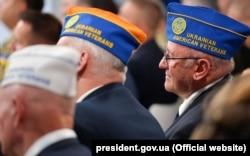 У Міжнародному форумі волонтерів і ветеранів взяли участь й американські ветерани українського походження. Київ, 22 серпня 2018 року