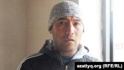 Уалихан Тажибаев, житель шымкентского микрорайона Нурсат. 7 апреля 2014 года.