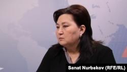 Маржан Аспандиярова.