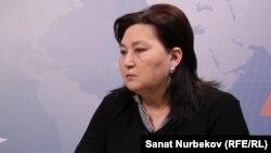 Правозащитник Маржан Аспандиярова.