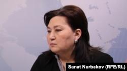 Маржан Аспандиарова.