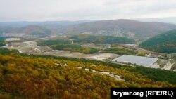 Село Терновка с высоты монастыря Челтер-Мармара