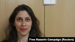 نازنین زاغری پس از مرخصی موقت از زندان