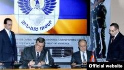 Фотография - пресс-служа Минобороны Армении