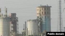 Химическое предприятие «Навоиазот» в городе Навои.