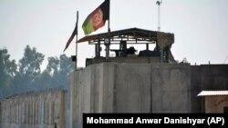 ارشیف جلال اباد کې د افغان امنیتي ځواکونو یوه چوکۍ