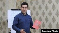 Таджикский правозащитник Дилшод Джураев.