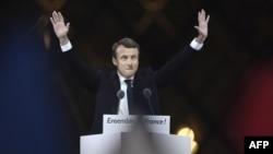 Էմանյուել Մակրոն, Ֆրանսիայի նորընտիր նախագահ