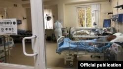 Отделение интенсивной терапии в медицинском центре «Сурб Григор Лусаворич» в Ереване (архив)