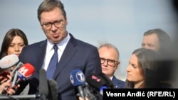 Президент страныАлександр Вучич