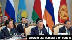 Нурсултан Назарбаев на заседании ЕАЭС (архивное фото).