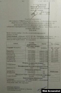 Документ свидетельствует об одном: власти в победе Путина не сомневались