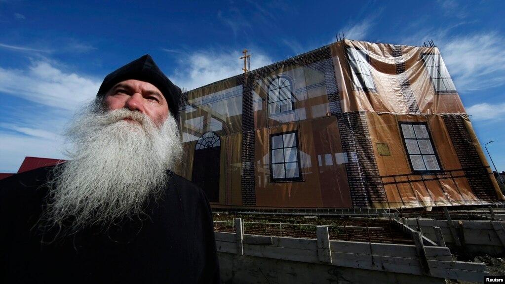 Россия. Протоиерей Русской старообрядческой церкви Георгий