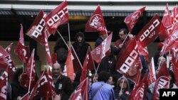 Штрајк во Шпанија