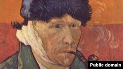 Винсент ван Гог. Автопортрет с отрезанным ухом и трубкой, 1889