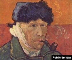 Van Goghun özü tərəfindən çəkilmiş portreti.
