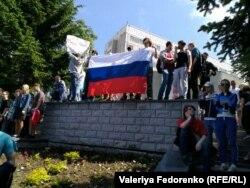 Протестный митинг во Владивостоке, 12 июня 2017