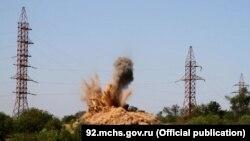 Знешкодження німецької бомби, Севастополь, 16 липня 2016 року