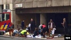 Briselski metro nakon eksplozije 22. mart 2016