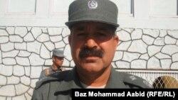 د ننګرهار د پولیسو مشر جنرال فضل احمد شیزاد