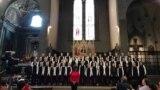 Виступ українського хору «Щедрик» у Флоренції, 20 липня 2018 року