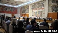 Aleksandar Vučić i predstavnici Srba sa Kosova na sastanku u Beogradu