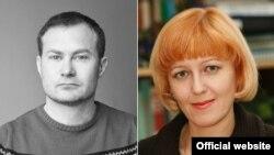 Українські журналісти Сергій Гармаш та Валентина Самар