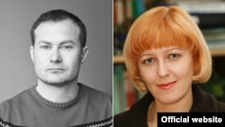 Sergey Garmaş ve Valentina Samar