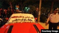 توقیف خودرو توسط پلیس (عکس آرشیو)