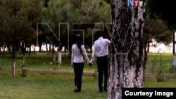 Иллюстративное фото из клипа, показанного по Нахчыванскому телевидению