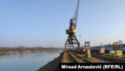 Luka Brčko, jedina je međunarodna riječna luka u BiH