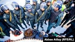 Azerbaijan -- Protest action in Baku, 10Mar2013