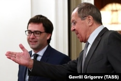 Miniștrii Nicu Popescu și Serghei Lavrov, la Moscova