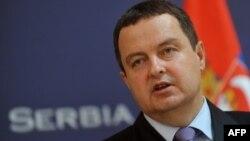 Српскиот премиер Ивица Дачиќ.