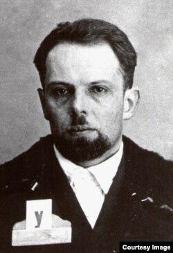 Тюремная фотография Дмитрия Усова