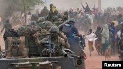 Trupat franceze në Timbuktu të Malit