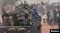Francuske trupe u Maliju, 28. siječanj 2013.