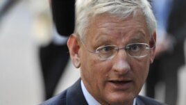 Swedish Foreign Minister Carl Bildt