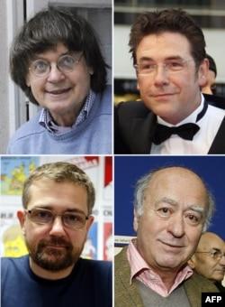 Погибшие сотрудники Charlie Hebdo