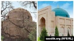 Өзбекстандагы Зу-л-Кифл күмбөзү, Термез.