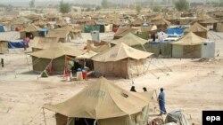 النجف:مخيم للنازحين
