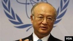 یوکیا آمانو، مدیرکل آژانس بین المللی انرژی اتمی