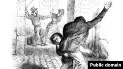 Франци -- Доьзалехь а, хIусамехь а ницкъ бар а, хьийзор а, диллина сурт, 1845.