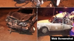 Авария 4 декабря на ул.Ханкальской в Грозном