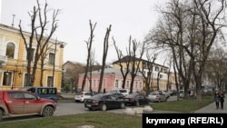 Улица Горького в Симферополе, архивное фото