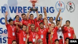 تیم کشتی فرنگی ایران در ترکیه
