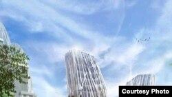Һолланд архитекторы милли китапханә проектын менә шулай күрә