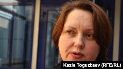 Құқыққорғаушы, заңгер Ганна Красильникова.
